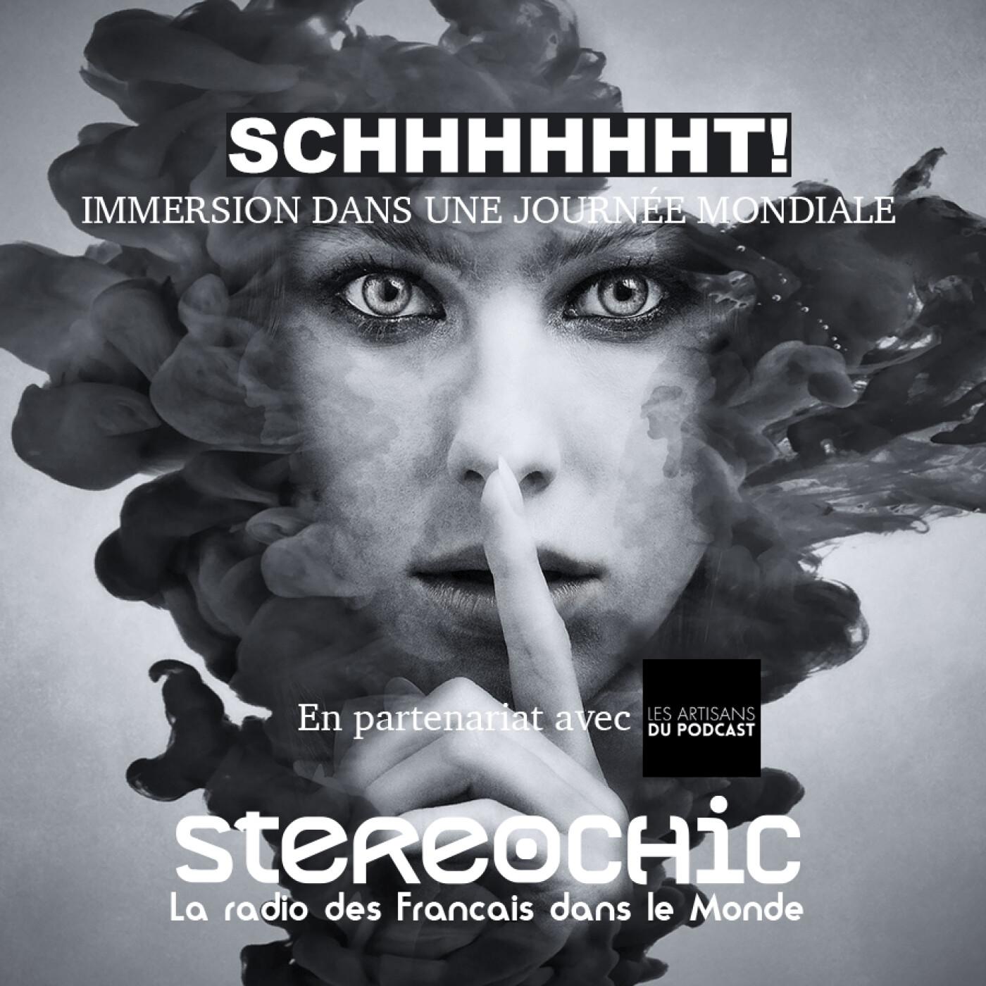 Avec Isabelle, Les Artisans du Podcast, nous partons dans les coulisses du rendez vous immersif Schhhhhht - 09 09 2021 - StereoChic Radio