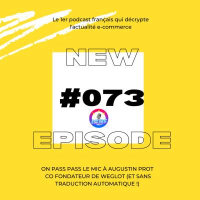 073 - CNIL et cookies, NFT, Instagram Check-Out, traduction ecommerce avec Augustin Prot de Weglot... cover