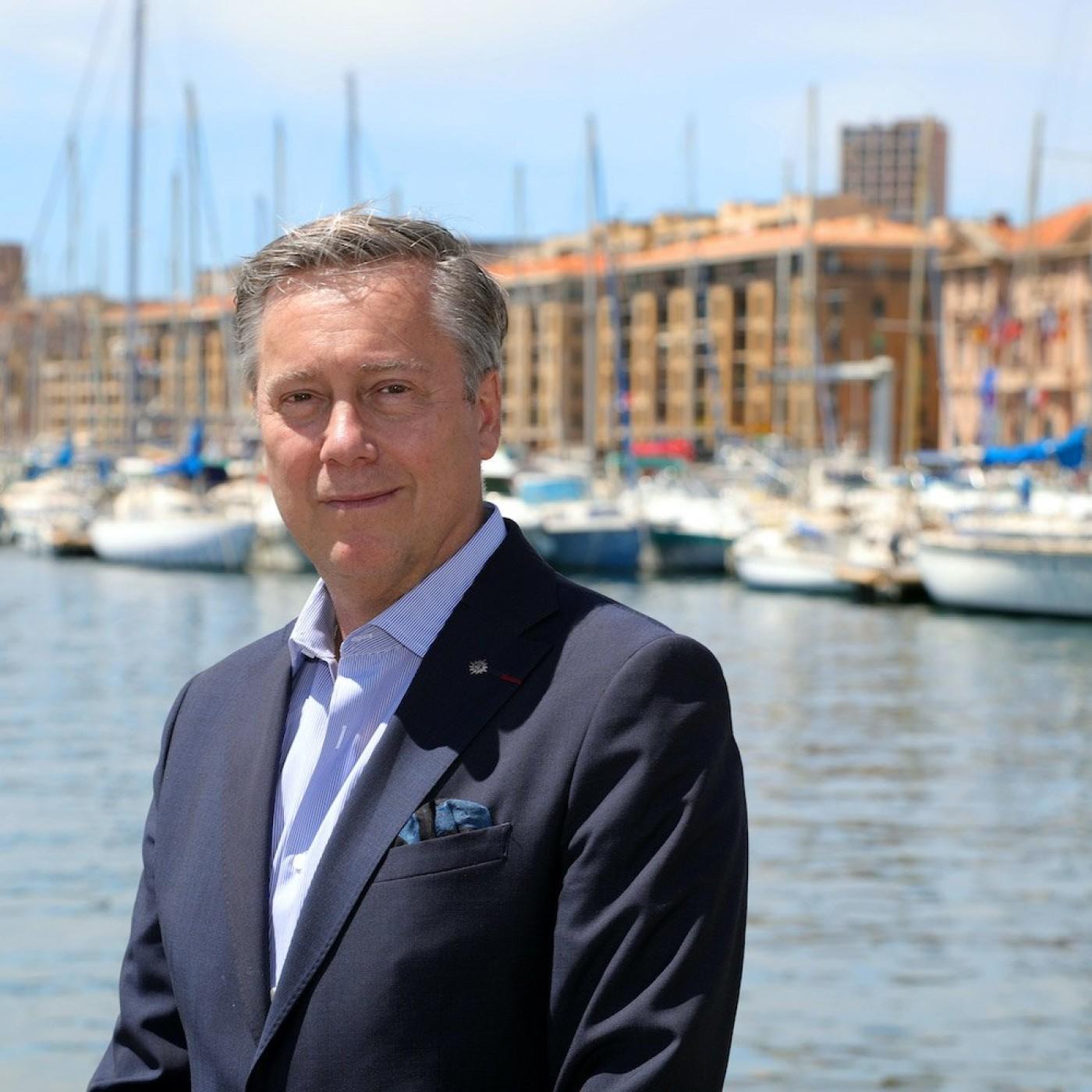 Patrick Pourbaix : Directeur-Général France, Belgique, Luxembourg de MSC Croisières