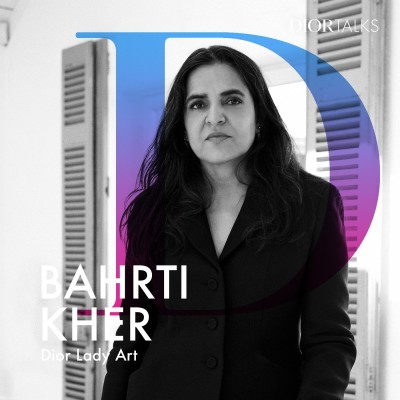 [Lady Art] Bahrti Kher on Adapting her Feminist, Bindi-Themed Universe to the Lady Dior cover