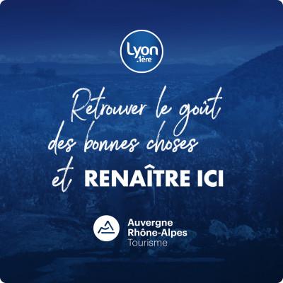 Le goût des belles et bonnes choses en Auvergne Rhône Alpes. cover