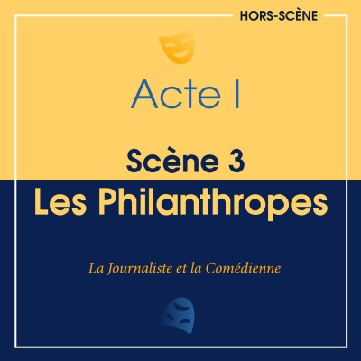 (I ; 3) Les Philanthropes cover