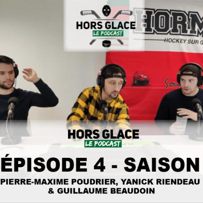 HORS GLACE - S1 ÉPISODE 4 (PM Poudrier, Yanick Riendeau & Guillaume Beaudoi) cover