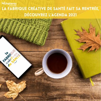 PODCAST 123 - La Fabrique Créative de Santé fait sa rentrée, découvrez l'agenda 2021 cover