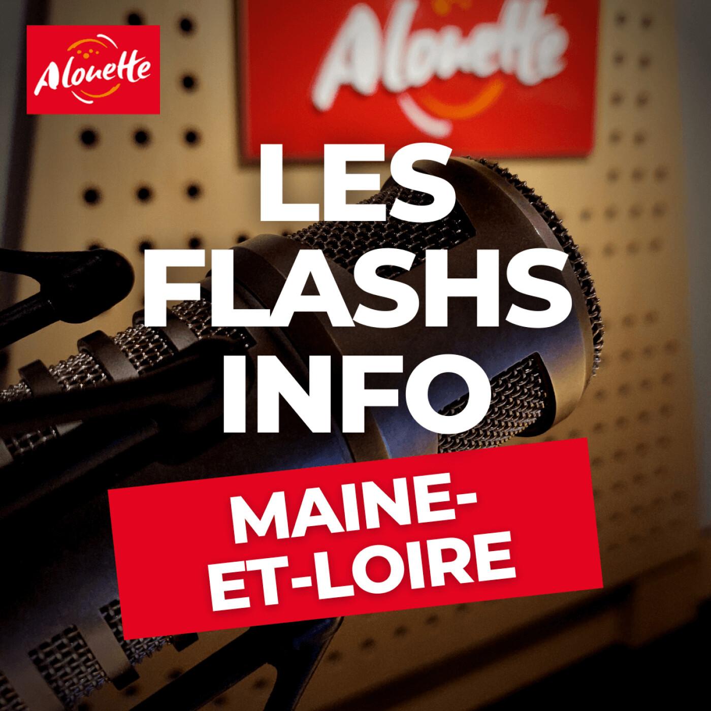 Alouette - Les Infos du 09 Août 09h00  dans la Maine-et-Loire