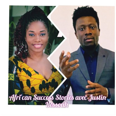 AFRI' CAN SUCCESS STORIES #8 AVEC JUSTIN HESSOUH Dirigeant de NETTRAV, la soif de savoir! cover
