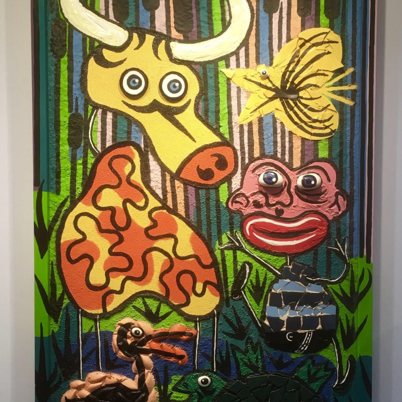 MC aime l'exposition d'art singulier à Châtenay-Malabry (22/02/20)