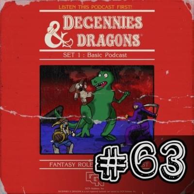 Decennies -63- Les jeux de rôles cover