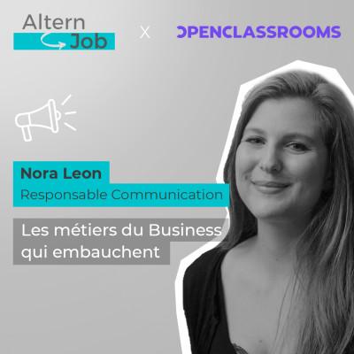 Les métiers du Business - Hors série avec Openclassrooms - EP15 cover