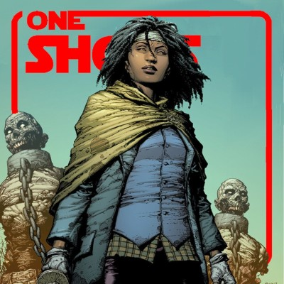 One Shots FIrst  #17 The minorities Report cover