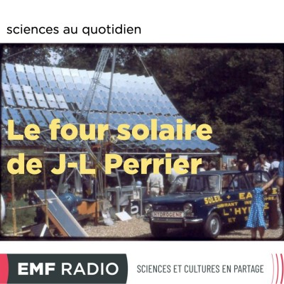 Le four solaire de Jean-Luc Perrier cover
