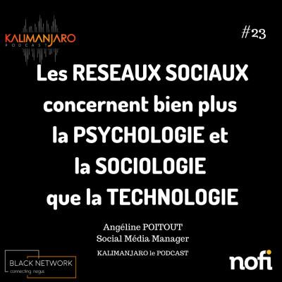 Kalimanjaro épisode #23- Comment déterminer sa stratégie sur les réseaux sociaux avec Angeline POITOUT Social Média Manager cover