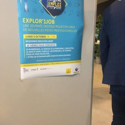 Une semaine pour un emploi à Grenoble cover