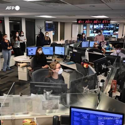 Hors série : l'AFP vous embarque dans une folle nuit électorale américaine cover