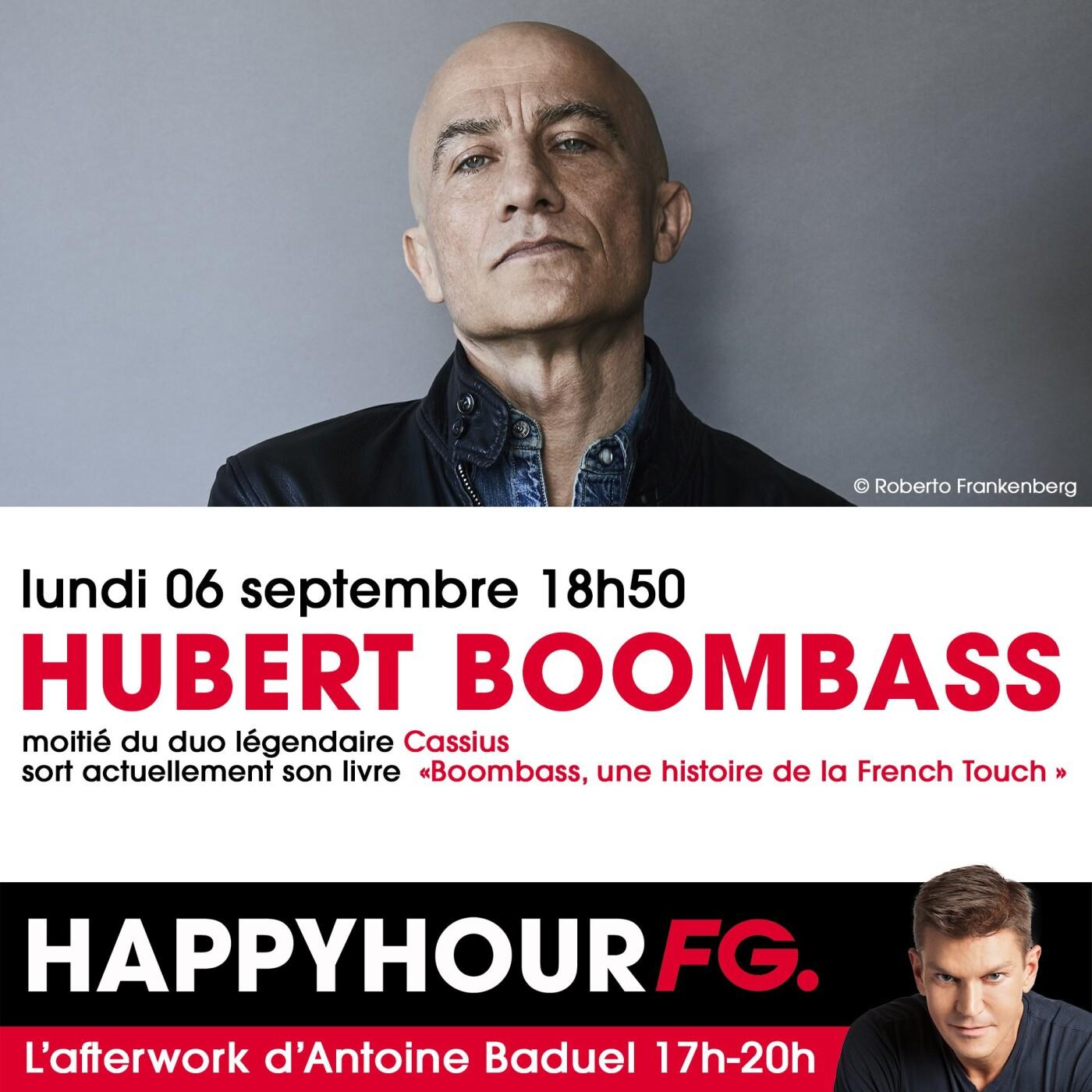 HAPPY HOUR INTERVIEW : HUBERT BOOMBASS