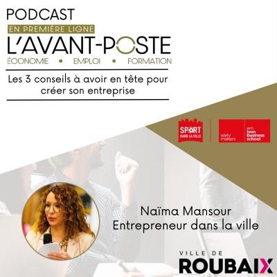 Naïma Mansour -Entrepreneur dans la ville cover