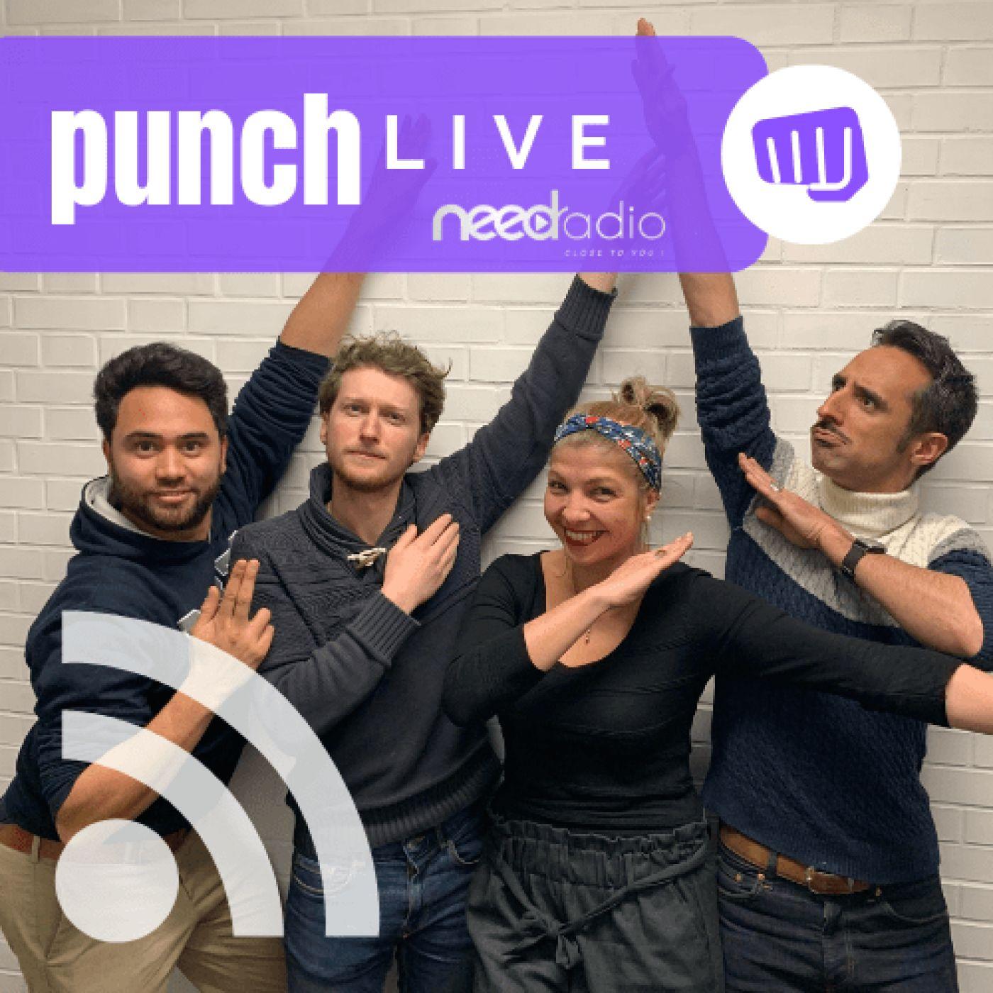Punch Live - La dernière de la saison (avec Quentin et son équipe) (24/06/19)