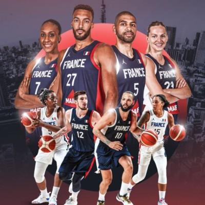 Jeux Olympiques 2020 - Le basket français double-médaillé cover