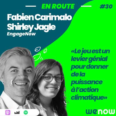 « Le jeu est un levier génial pour donner de la puissance à l'action climatique » avec Fabien Carimalo & Shirley Jagle cover