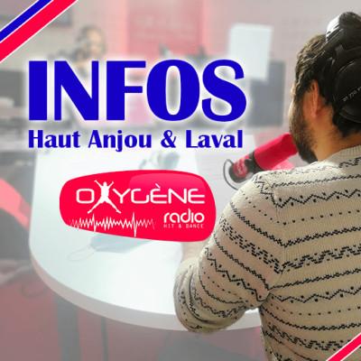 Image of the show INFOS LOCALES - Oxygène Radio