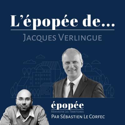 L'épopée de Jacques Verlingue par Sébastien Le Corfec (Epopée / West Web Valley) cover
