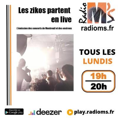 Les Zikos partent en Live #9 - Vacances - Rediffusion Benjamin Sanz et Playlist de l'été cover