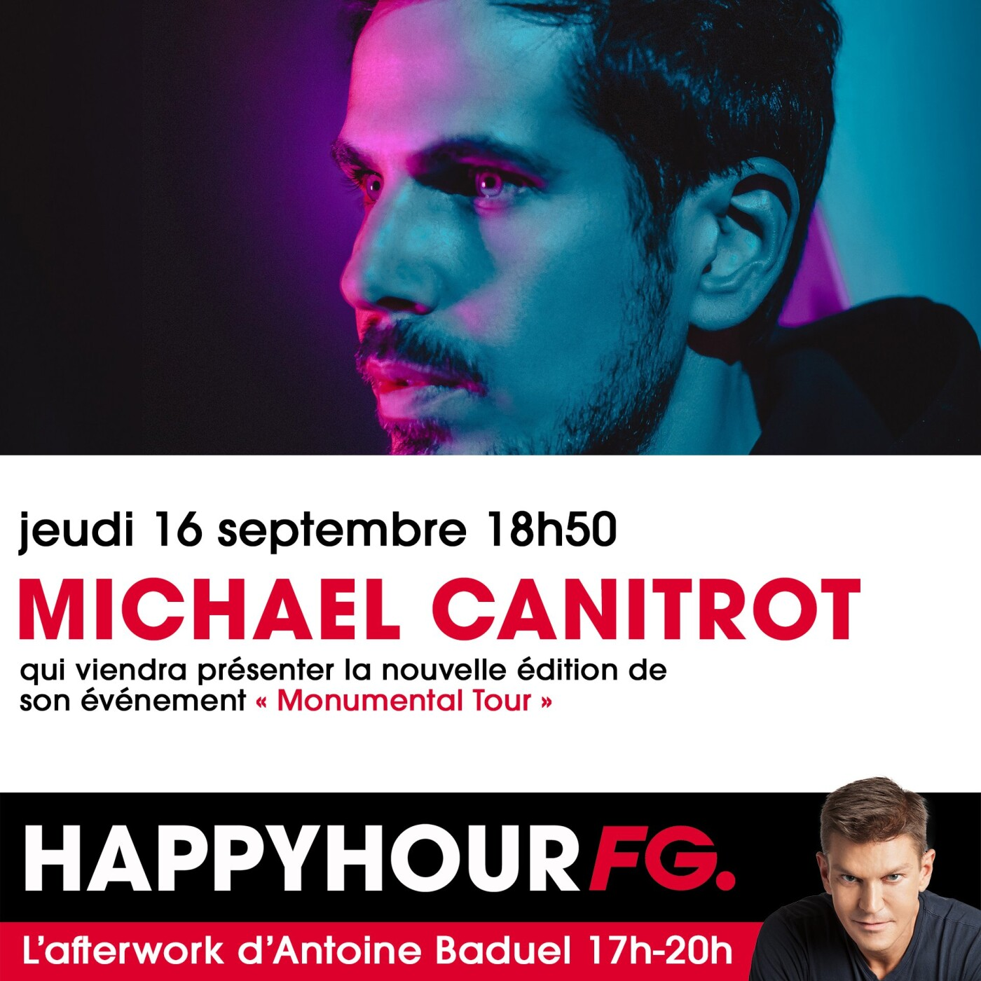 HAPPY HOUR INTERVIEW : MICHAEL CANITROT