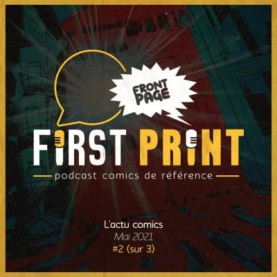 Front Page : l'actualité comics de mai 2021 #2 (sur 3) ! cover