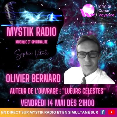Image of the show Et si on parlait du phénomène OVNI avec Olivier Bernard auteur du livre Les lueurs célestes présentée par Sophie Vitali