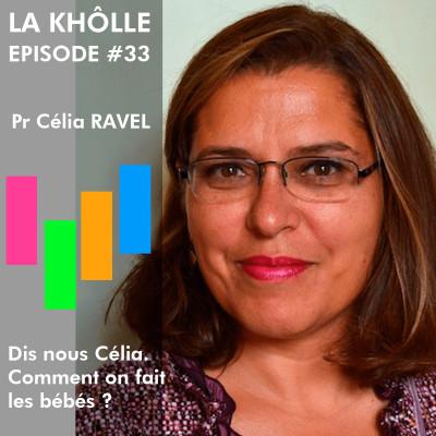 #33 Comment on fait les bébés ? - Professeur Célia Ravel cover