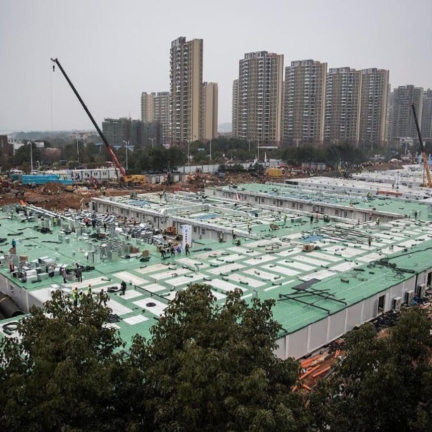 Chiffre du jour : 10 > En Chine, un immeuble de 10 étages construit en 28 heures ! - 02 07 2021 - StereoChic Rad