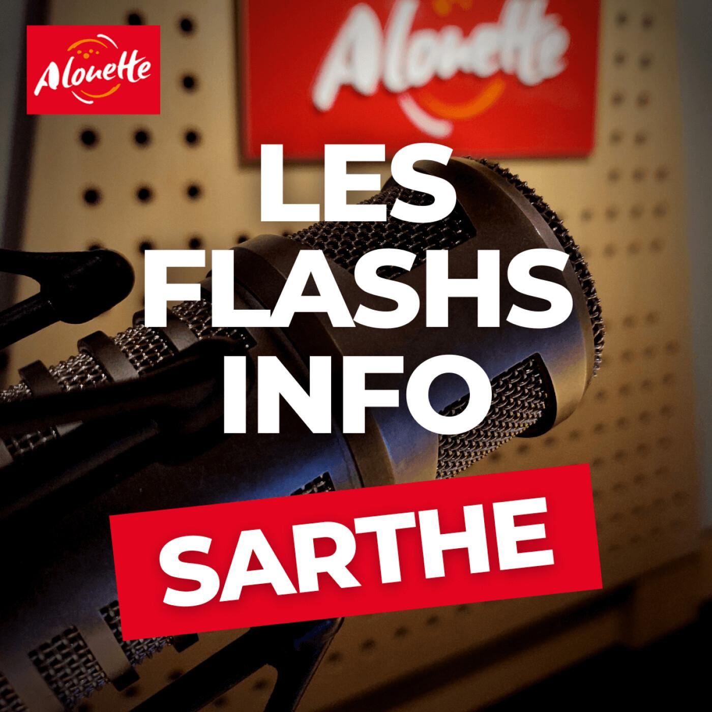 Alouette - Les Infos du 10 Août 18h00 en Sarthe.