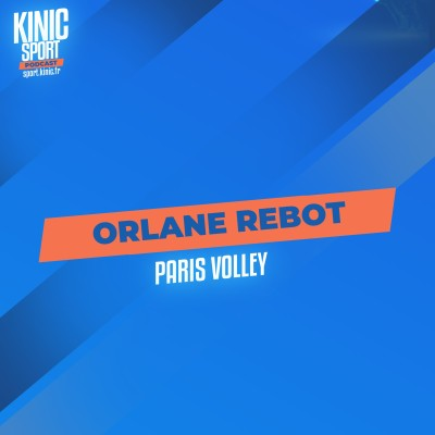 #4 - Orlane Rebot : Paris Volley cover