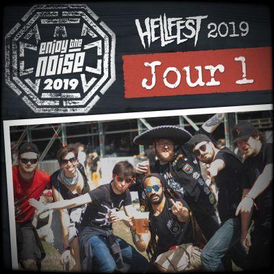 Les Enjoyés au Hellfest 2019 - Sabaton à la Fête des Voisins (Jour 1) cover