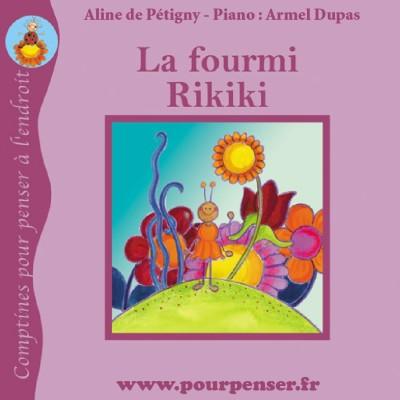 La fourmi Rikiki - Les petites histoires de Pourpenser cover