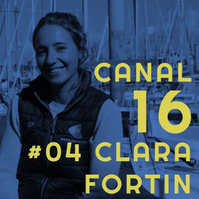 #04 Clara Fortin - Détermination et passion en Class40 💪 cover