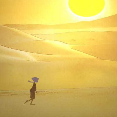 (10) Le vent du désert cover