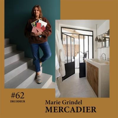 #62 Marie Grindel de MERCADIER, spécialiste du béton ciré et de l'enduit à la chaux cover