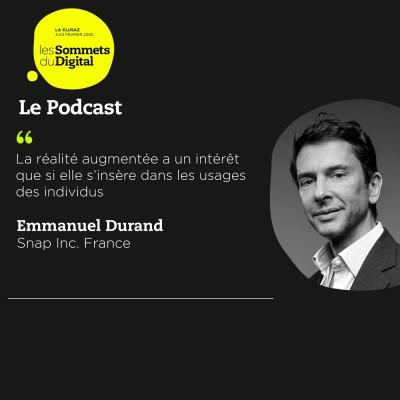Cover' show Emmanuel Durand - Faire le pari de la réalité augmentée