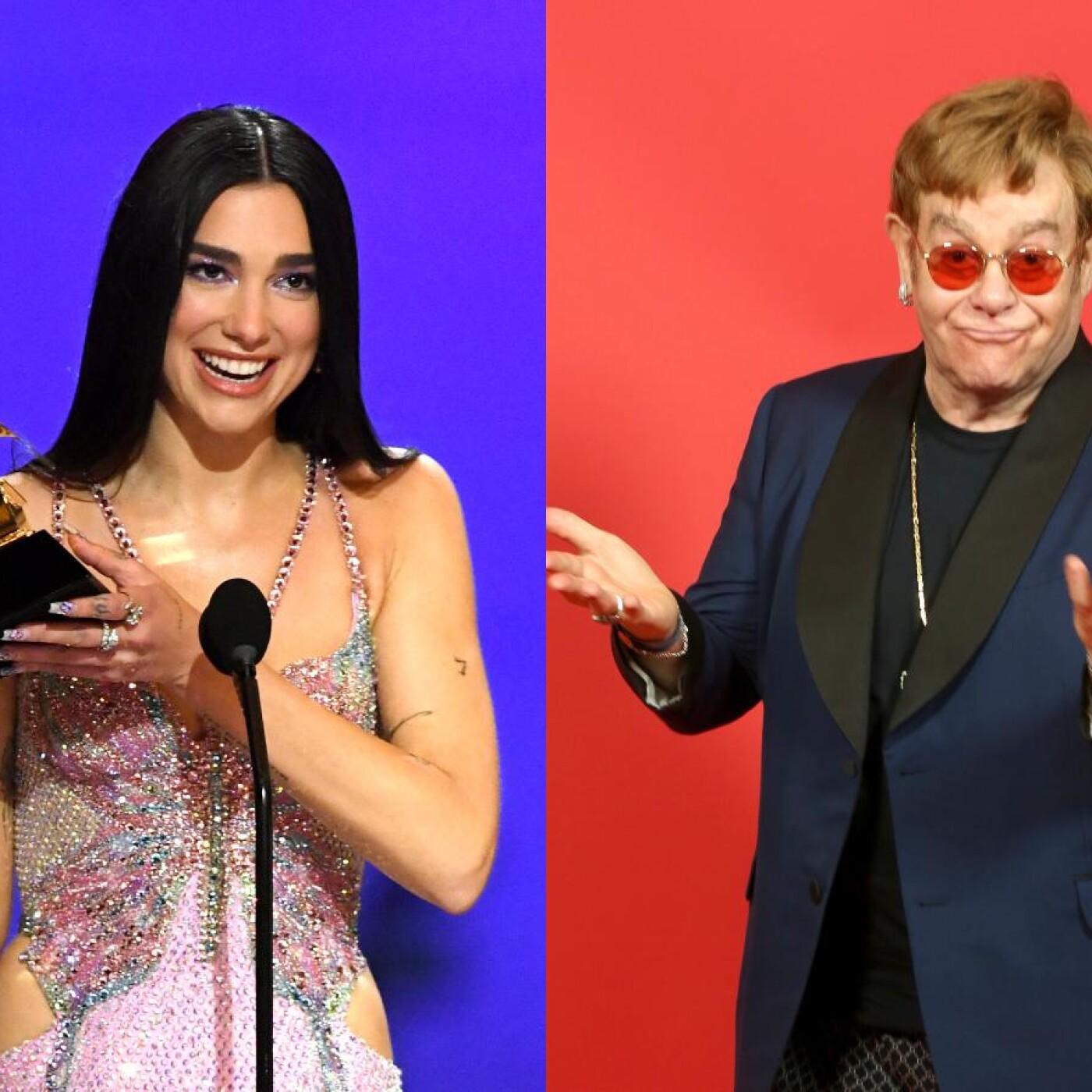 Jenifer et Elton John ft. Dua Lipa !