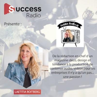 Laetitia Roitberg, Journaliste, Rédac chef, Animatrice cover