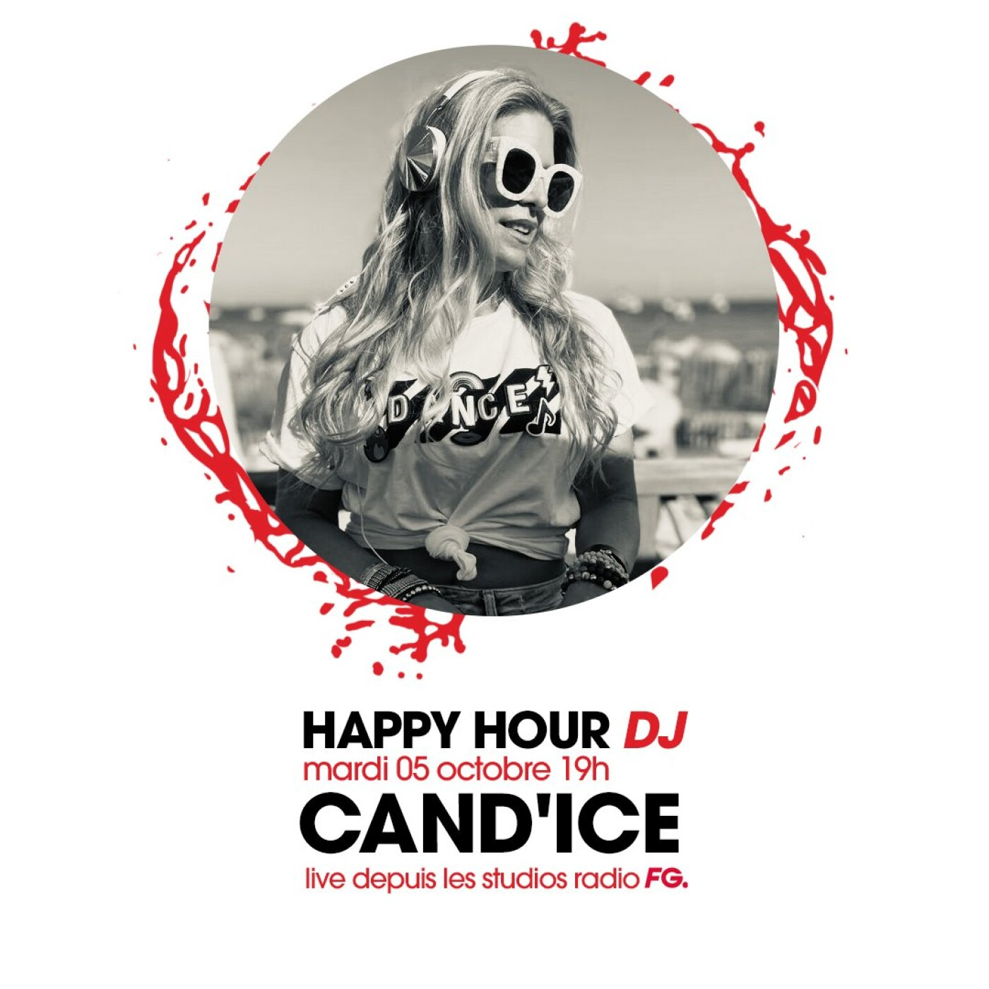 HAPPY HOUR DJ : CAND'ICE