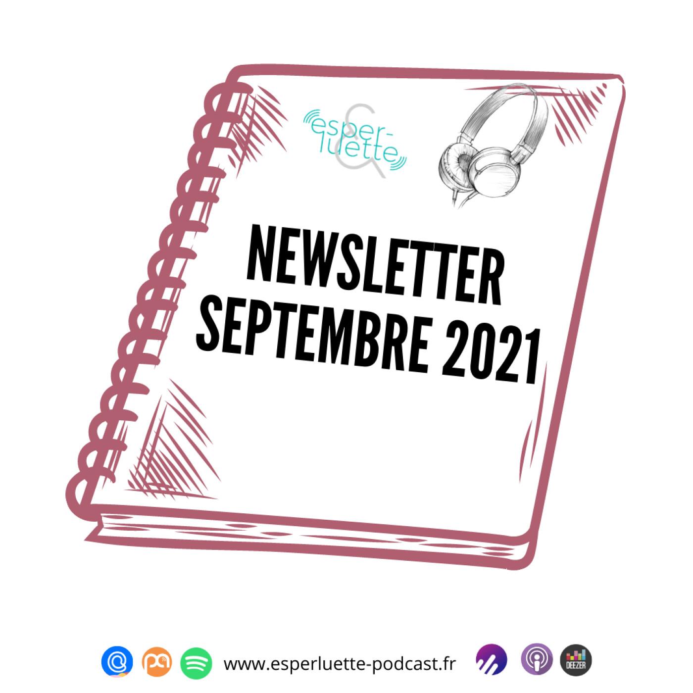 Esperluette – Newsletter Septembre 2021