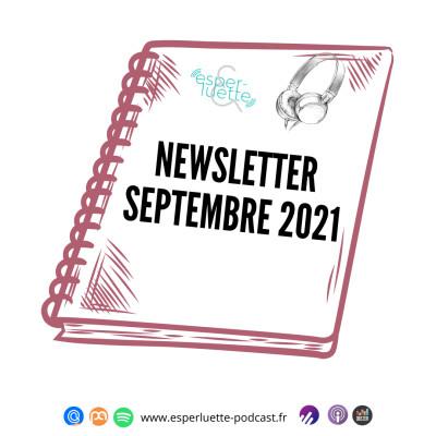 Esperluette - Newsletter Septembre 2021 cover
