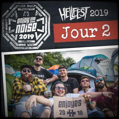 Les Enjoyés au Hellfest 2019 - Allez Gaeon et l'envie de voir Envy (Jour 2) cover