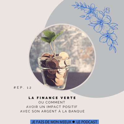La finance verte ou choisir l' impact avec son argent à la banque. cover
