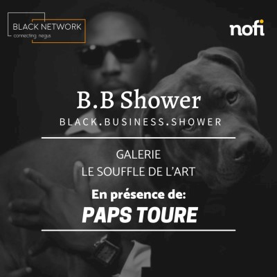 Hors série -BB Shower avec Paps TOURE à la galerie Le souffle de l'art cover
