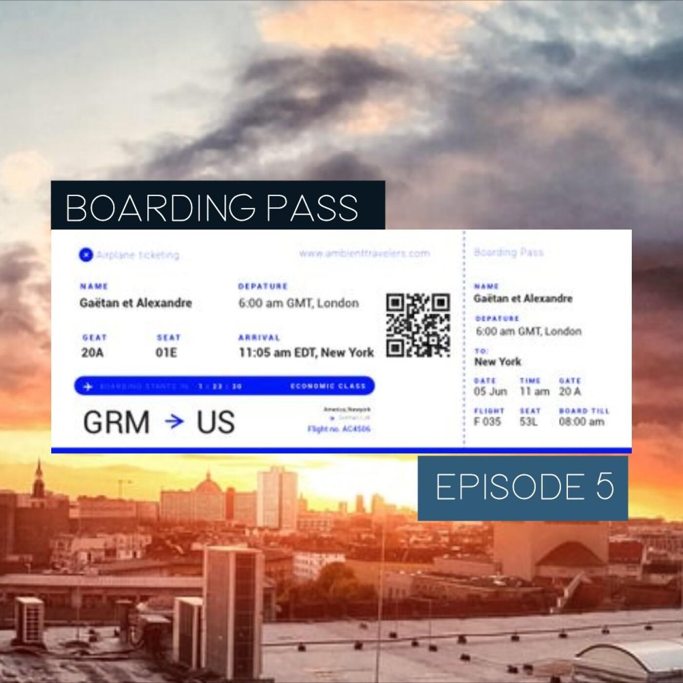 Boarding Pass 005 ✈️ Nils Frahm et Martin Stürtzer