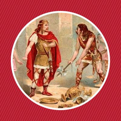 486 : Clovis et le vase de Soissons cover