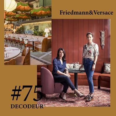 #75 Friedmann&Versace, le duo d'architectes à connaitre cover